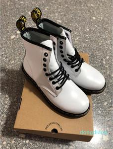 Hot Sale-unisex 100% Genuine Leather Designer shoes 1460 women Martin Boots Doc Shoes men women Dr Martins boots shoes