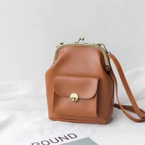 Kadınlar Tasarımcı Yüksek Kalite Marka Bayan cüzdanları Messenger Bag için Vintage Clip Kadın Çantaları PU Deri Shoulder Crossbody Çanta