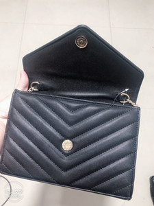 New Crossbody Metal Letter Front Designer Handbags PursesYSLWomen Meessnger Bag Pu Leather Shoulder Bags963