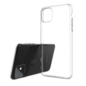Mobile Phone Protective Cover for IPhone11 Pro Max Waterproof and Breathable 9H Anti-fall Soft TPU Silicone Transparent Mobile Phone Case