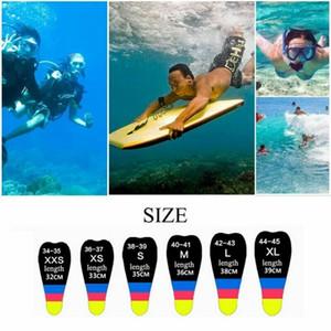 Short Fins Kids Adult Adjustable Neoprene Diving Swimming Anti-slip Snorkeling Surfing Swim Training Hydrofoil Diversion Flippers Equipment