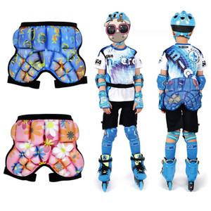 Paten Snowboard Paten Kayak için 3D Koruma Kalça Butt pedleri Çocuklar Koruyucu Kalça Pad Şort Koruyucu Dişli Görevlisi Darbe Karşıtı Güz
