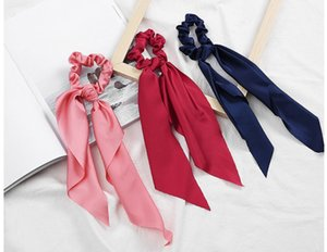 Designer Silk Cross Elastic Women Headbands Fashion Luxury Girls Pure Color Hair bands Scarf Hair Accessories Gifts Hot Sale Best Headwraps