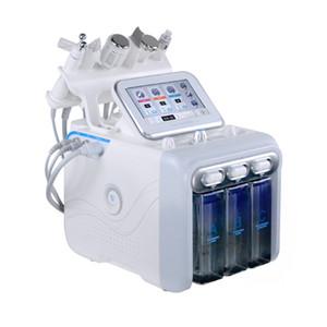 6 일 Hydrafacial 박피술 기계 물 산소 제트기 껍질 하이 드라 스킨 스크러버 얼굴 미용 딥 클렌징 RF 얼굴 리프팅 콜드 해머