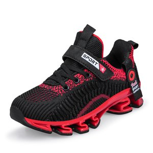 Hot Sale Children Boy Sport Shoes Good Quality Girls Running Shoes for Kid Black Teenage Boy Sneakers Summer Casual Girls