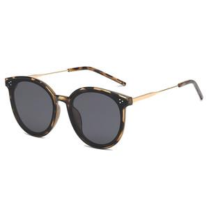 Primera marca gafas de sol de calidad superior de gama alta de las mujeres a hombres y mujeres gafas de sol polarizadas al aire libre UV400 hombres y mujeres gafas de sol del ojo de gato
