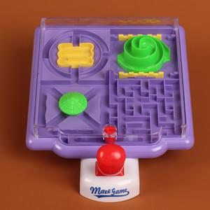 Marmi Gioco tridimensionale Labirinto Giocattolo Gioco da tavolo coordinazione occhio-mano Gioco Giocattoli educativi per bambini Regalo