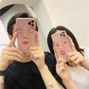 iPhone 11 komik cep telefonu kılıfları yumuşak TPU silikon yanlısı xs Max xr kaliteli yaratıcı özgün ücretsiz gönderim