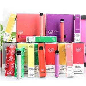2020 Yeni Puff Artı Boş Tek Cihaz Pod Başlangıç Seti 550mAh Pil 3.2ml Kartuş Vape Kalem Puff Bar Pop MR buharı boşaltın