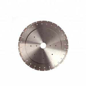 Horizontal Granite Marble Stone Cutting Saw Blade 16 Inch D400mm Diamond Horizontal Cutting Disc for Stone Edge 1PC