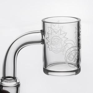 Il più nuovo 25mm OD Quarts Banger con il nuovo modello 4mm di spessore quarta banger chiodo per Dab Rig Glass Bong acqua