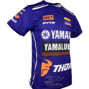 2020 esplosione estate YAMAHA nuova camicia casuale ad asciugatura rapida off-road moto tuta girocollo T-shirt a maniche corte ad asciugatura rapida bre