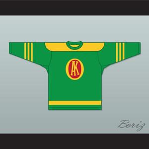 1945-1946 Gordie Howe 9 Ak-Sar Omaha-Ben Knights USHL Accueil Hockey Jersey personnalisé tout nom Tout Numéro Cousu Couleur Rouge Livraison gratuite