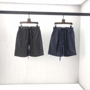 2020 Paris Summer Tops Mouse Printed Alphabet Graphics Ladies Pants Street Harajuku Casual Ladies Men's Shorts Black White EU Size
