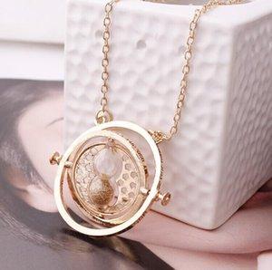 5 Couleur Sable Or Couleur Collier Hourglass Mode Vintage Hermione Granger Pendentif Saint Valentin gros cadeau