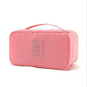 das mulheres Bra Underwear Travel Bag Mala Organizador mulheres Armazenamento Cosmetic Bag bagagem Organizador Para Lingerie Makeup Bolsa de