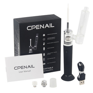 Hotsale CPENAIL Starter Kit Портативный Wax Испаритель Dab Rig ногтей Ceramic Quartz Electric H Nail GR2 Ti 3type Катушки Ecigs Vapor Стеклянные бонги