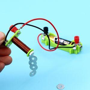 الدائرة الكهربائية الفيزياء الإبداعي تجربة الكهرومغناطيسية معدات المصانع الابتدائية المدرسة الثانوية المادية التدريس