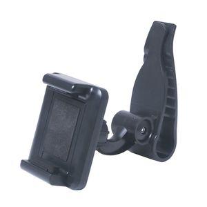 Car Mount Cell Phone Holder Universal 360 Rotating Car Sun Visor Mount Support Clip Bracket for GPS Smartphones [60-80mm]