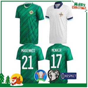 Camisa 19 20 Irlanda del Norte camiseta de fútbol 2020 LAFFERTY hogar para adultos hombres DAVIS Magennis EVANS MCNAIR BOYCE Fútbol