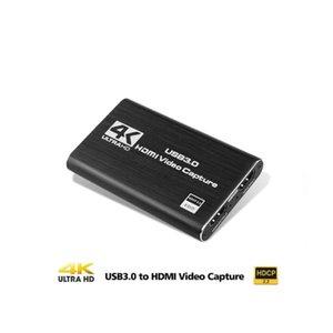 4K HDMI A USB 3.0 tarjeta de captura de vídeo, captura de vídeo Full HD grabador de vídeo juego de mano convertidor para la captura de juego de cartas en vivo