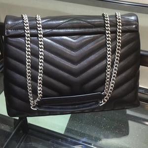 Piel VeraStore LOU 32cm diseñador de los bolsos de hombro de alta calidad bolsa de mujeres de los bolsos de las mujeres famosas marcas de lujo Mujer