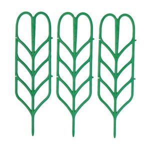 3pcs durable Plasic Garden Trellis Pour les plantes en pot Petit Houseplant Trellis