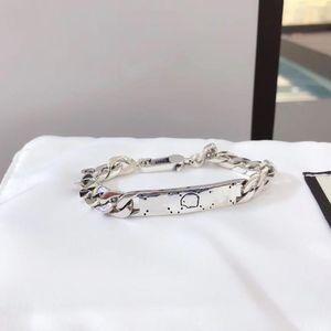 The classical charm Fashionable men and women Skull Skull Whip Bracelet S925 jewelry original Luxury brands Couple gift