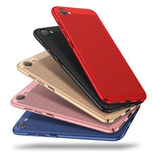 Hot Scrub respirável Cooling Celular Caso Mobile Phone Caso Anti-Shock Anti-vibração para: Oppo F1s A59 F1 Além disso R9 F5 A73 F7 F9