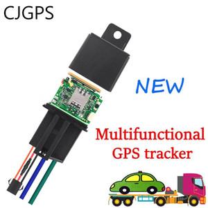 CJGPS 730 Relay Car Tracker GPS ACC dispositivo de seguimiento de ocultar las pruebas de Moto Vehículo remolcado movimiento de alarma de seguimiento GPS de múltiples funciones