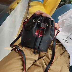 Belle2019 Bag Rui Man Lovely Take Bring Bucket Package Woman Oblique Satchel Joker Ins Girl Single