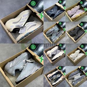 Nuovo Kanye West V3 Azael Alvah 700 Ospedale Statico Magnet corridore onda Running Shoes 500 Nero Bone Oreo Asriel Sport scarpa da tennis con la scatola Stockx