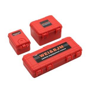 3шт Пластиковые Rc автомобилей Ящик для хранения Украшение Инструмент для Traxxas Trx4 Осевая Scx10 90046 D90 1/10 Rc Crawler аксессуары