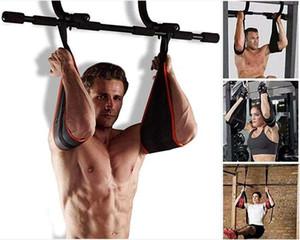 Home Fitness Gym AB Sling Correas Pull-Ups músculo abdominal Formación Colgando entrenamiento deporte de la correa Equipo Barra horizontal de la correa