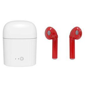 Yeni i7 i7s Twins bluetooth kulaklık i8x bluetooth kulaklık earplug stereo 4.2 iphone için kablosuz bluetooth kulaklık Kulaklıklar