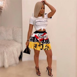 20s Women Summer Dress Skirt Summer Short Skirts Women's Pleated Skirt Digital Print Skirt Factory Direct2