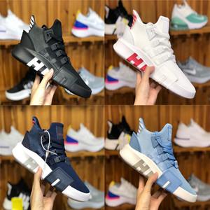с оригинальной коробкой EQT Bask Support Future 93 17 Тройные белые черные кроссовки вязаные Chaussures Дизайнерские кроссовки мужчины и женщины кроссовки