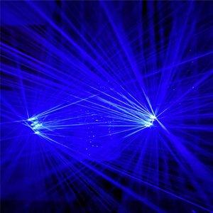 Q13 ardore ricaricabile dj laser blu guanti leggeri 4 pezzi teste laser robot uomini mostrano laser costumi bar proiettore luminoso travi partito guanto