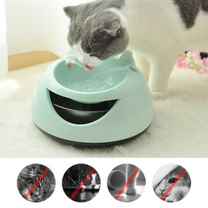 Cat Drinking Fountain Automatic Luminous Pets Water Fountain For Cats Fountain Dogs USB Electric Water Dispenser Drinking Bowls