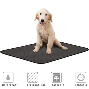 Lavable Pet Dog Diaper Mat urine Absorbant Environnement Protect couche-culotte imperméable Mat réutilisable formation Pad Dog Car Seat Cover