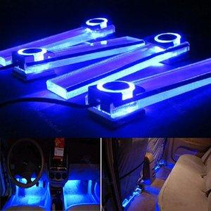 12V 4 в 1 автомобиль Charge LED интерьера Украшение торшер Декоративные Light