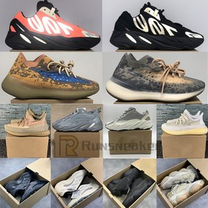 700 Phosphor Bone White Teal Blue V3 Alvah Azael Running Shoes Kanye West 500 Stone Blush 380 Blue Oat Mist Alien Sports Sneakers With Box