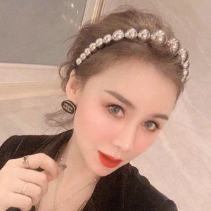 Simple Pearl Hair Band Alice Band Cerchietto Aliceband Hair Style Girl With Nice Hairbands Aqua Hair Band For Girls comecase NblUU