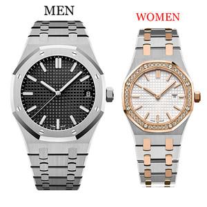 Dropshipping-Hommes Montres 42 / 33MM complète montre en or bracelet en acier inoxydable de saphir montre-bracelet qualité lumineuse dame montres de luxe Montre