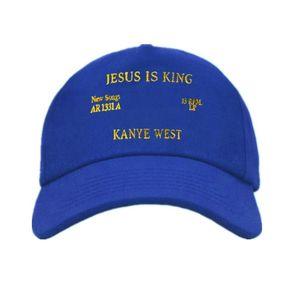 Nuevo Jesús es rey gorras de béisbol bordado papá sombrero Unisex mujeres hombre sombreros último Snapback