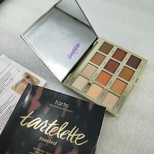 12 couleurs de maquillage des yeux palette Marque Tartelette Toasted Tarte / en fleur Palette d'ombres à paupières Naturals haute performance