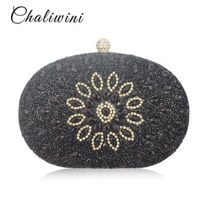 Women Clutch Bag Wedding Clutch Party Chaliwini Purse and Handbag Pearl Handbags Women Bags Wallet bolsa