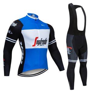 2019 Spring Autumn Collection New black Cycling Jersey Long Sleeve Men Outdoor Racing Trekking Bicycle Jersey ropa ciclismo set