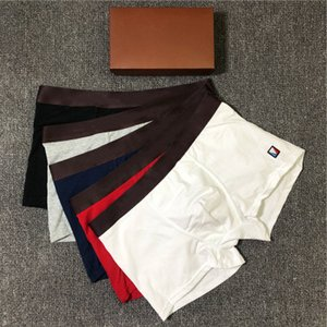 Fashion Designer Mens Boxers 2020 New Arrival Men Brand Underwear Luxury Underpants with Letter Printed with Box 5 Colors Size M-2XL YF20414
