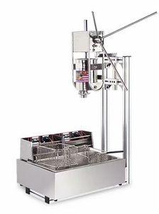 Libero macchina produttore di navigazione commerciale 3L Churros con 12L elettrico litri friggitrice, churros macchina per fare